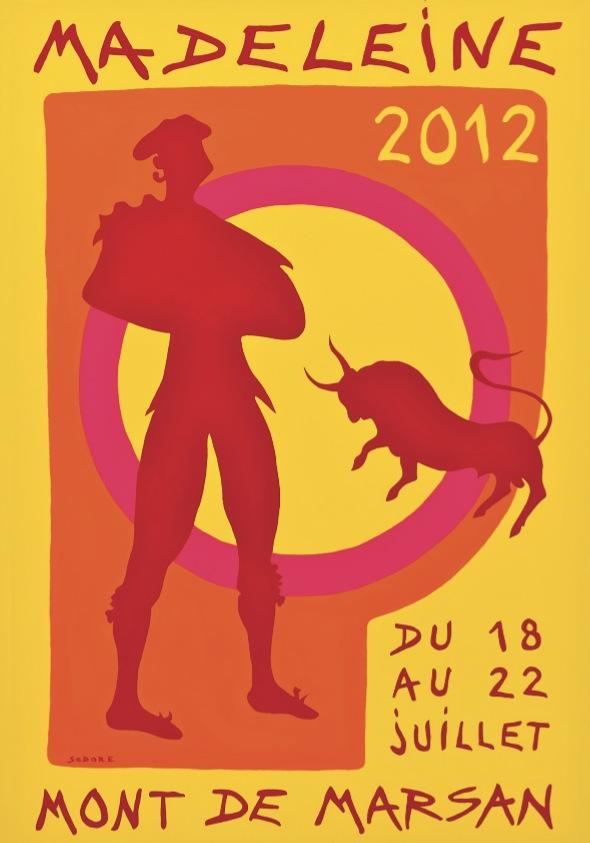 regie des fetes ville de mont de marsan fetes de la madeleine 2012