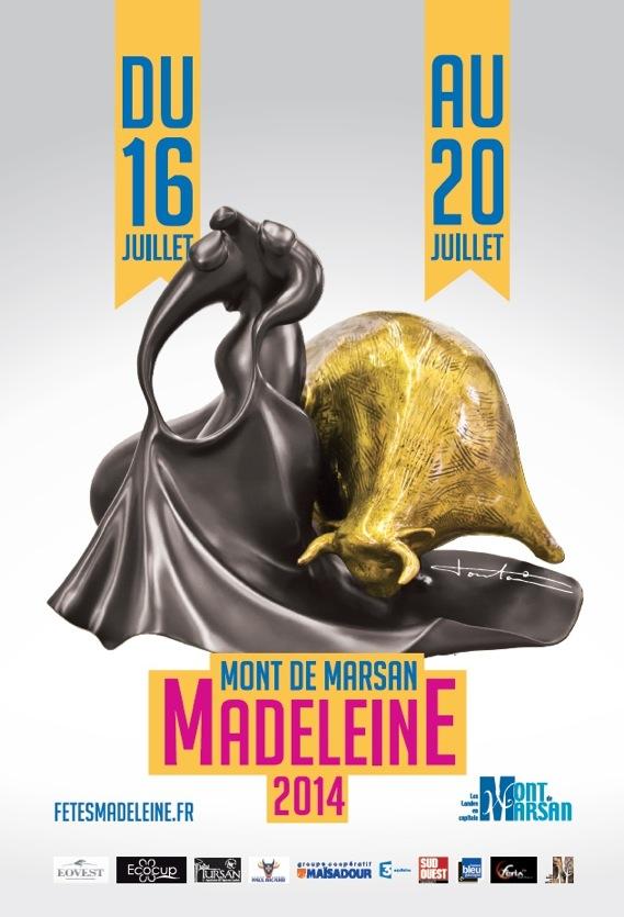 image : Affiche Madeleine 2014